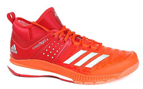 Adidas - Zapatillas de vóleibol Crazyflight X Mid