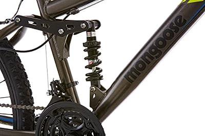 "Mongoose Cache 26"" Men's Mountain Bike, Grey"