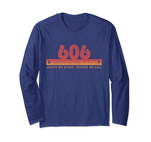 Unisex Kentucky Area Code 606 Shirt Vintage Retro State Motto Gift 2XL Navy - Kentucky State Motto