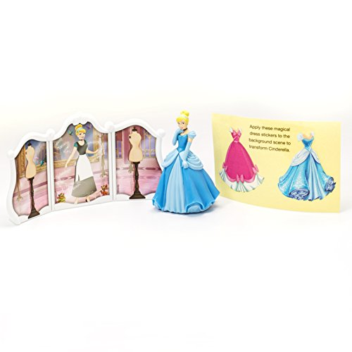 DecoPac Disney Princess Cinderella Transforms DecoSet Cake Topper ()