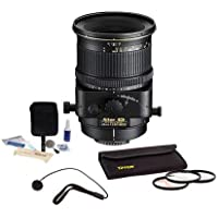 Nikon 45MM f/2.8 MF Lens with Filter/ Cleaning Bundle. Value Kit with Acc #2174
