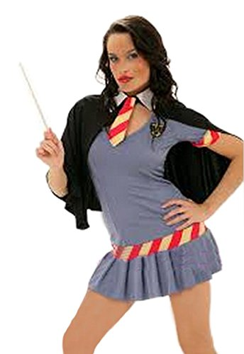 Sexy Gorgeous Wizard Wanda Costume (L) (Harry Potter Themed Costumes)