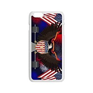 US flag and eagle sign Cell Phone Case for Iphone 6
