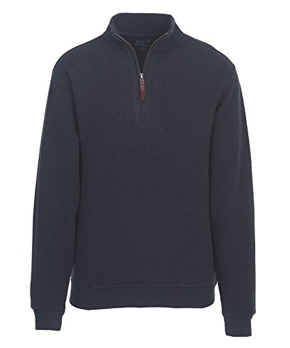woolrich-mens-bromley-half-zip-sweater-deep-navy-heather-large