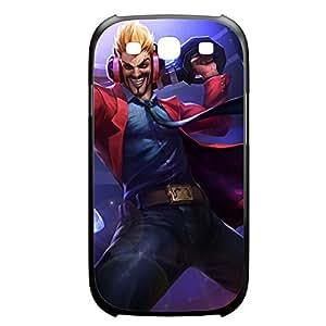 Draven-002 League of Legends LoL case cover Samsung Galxy S4 I9500/I9502 Plastic Black