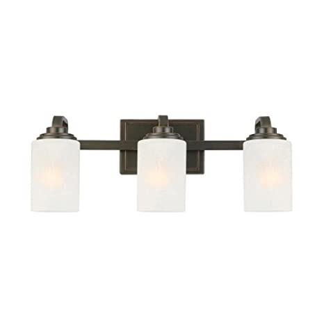 Hampton bay 3 light oil rubbed bronze vanity light