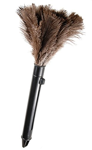 [Retractable Ostrich Feather Duster, Genuine ostrich feather] (Pledges Halloween Costumes)