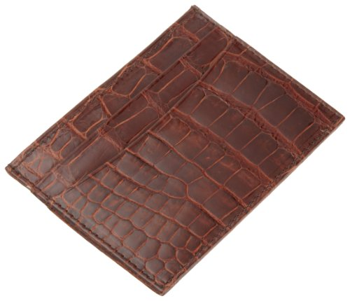 Slim Alligator Chestnut Men's Slim Alligator Men's Holder Holder Card Card Chestnut Trafalgar Trafalgar Men's Trafalgar 4n6pP