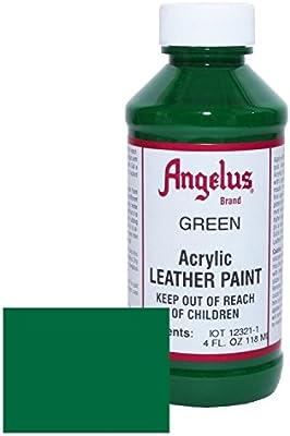 Amazon.com: Angelus Leather Paint 4oz-Green