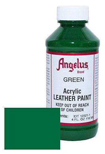 Angelus BCAC16007 Leather Paint 4oz Green