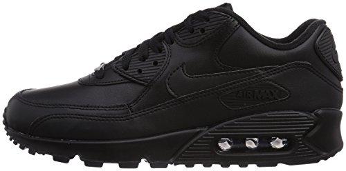 Nike Leather Nero Scarpe 90 Max Ginnastica Da Air Uomo A4raAwq6U