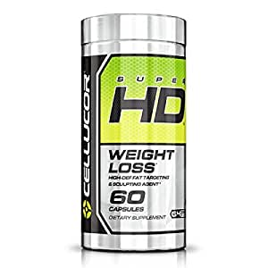 Cellucor, SuperHD Thermogenic Fat Burner Supplement for Weight Loss, G4v1, 60 Capsules