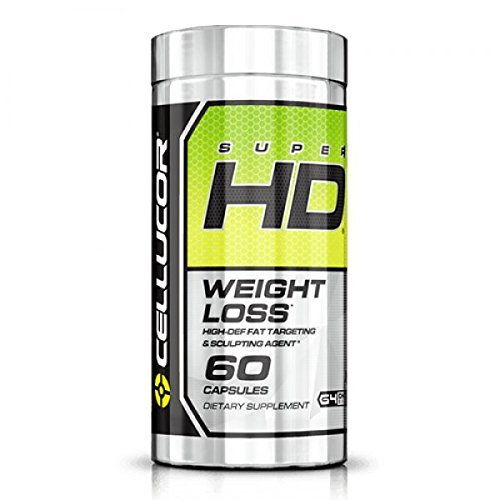 Cellucor, SuperHD Thermogenic Fat Burner for Weight Loss, 60 Capsules (Hd Super Cellucor)