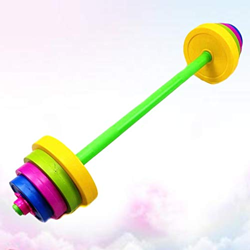 VOSAREA Dumbbells Weight for Kids Adjustable Dumbell Children Barbell Toy Exercise Equipment Training Arm Muscle Fitness…