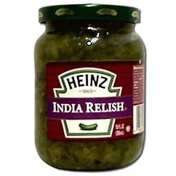 India Relish,10 Ounce -- 12 Case