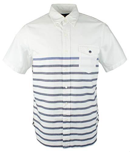 Polo Ralph Lauren Men's Marine Oxford Short Sleeve Shirt-W-XL Blue