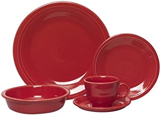 product image for Fiesta 5-Piece Place Setting, Scarlet