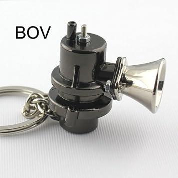 4agegarage/® Blow Off Valve Gunmetal Keychain REDLINEstore BOV-KEYCHAIN