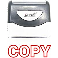 Copy Self-Inking Rubber Stamp - (-Red Ink