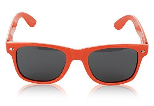 Wayfarer Polarized Sunglasses for Men and Women Orange - Wayfarer Orange
