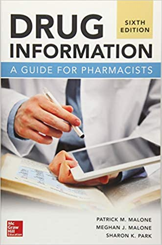 Drug Information: A Guide for Pharmacists, Sixth Edition - Original PDF