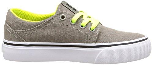 DC Shoes Trase Tx B Shoe Tau - Zapatillas para niños Grey (Taupe)