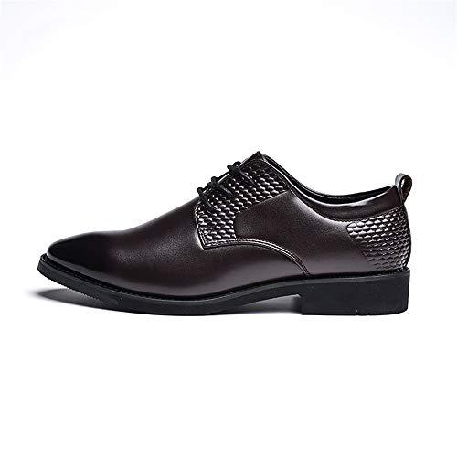 ufficio Scarpe Color 38 punta stile shoes Dimensione inglese Stringate da Oxford da da EU appuntita Basse Marrone con 2018 Xujw uomo Marrone Scarpe lavoro UXz0wq