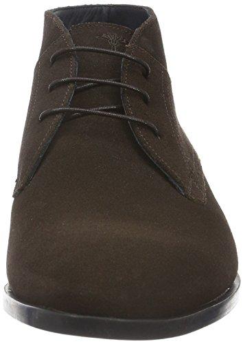 Joop! Daniel Mid Lace Suede, Zapatos de Cordones Derby para Hombre Marrón - Braun (702)