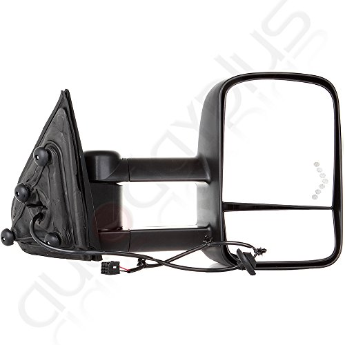scitoo manual w arrow signal towing mirrors for 2014 16 chevy gmc silverado sierra 1500 2015 16. Black Bedroom Furniture Sets. Home Design Ideas