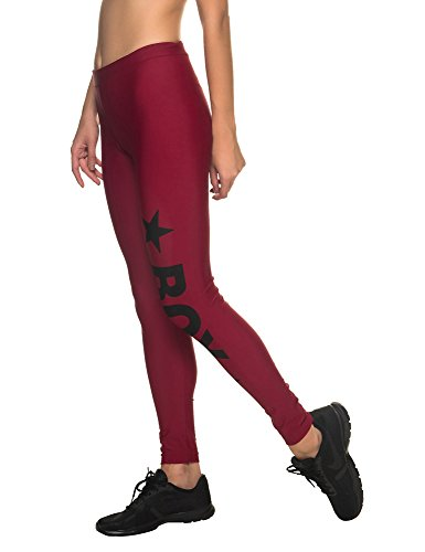Pantalone Boy Trouser Woman Leggings 8732v Bordeaux Donna London HIBAI4