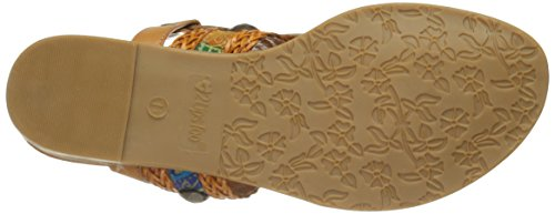 Mystery Lips Sandal 2 Too Women Too Tan Flat waqSOHq