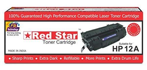 Red Star HP 12A Toner Cartridge Black Q2612A for Laser Printer 1010 1012 1015 1018 1020 1022 3015 3020 3030 3050 3050Z 3052 3055 M1005 MFP M1319