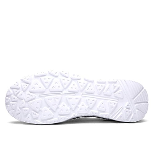 Eagsouni® Hombres Verano malla transpirable Beach Slip-en Los Zapatos De Secado Rápido #3gris profundo