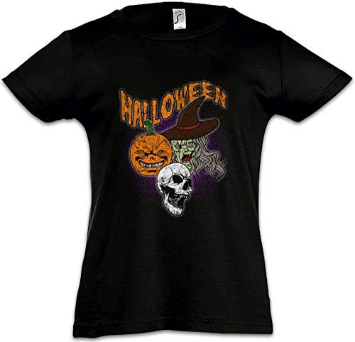 Urban Backwoods Halloween Faces Kids Girls Children T-Shirt ()