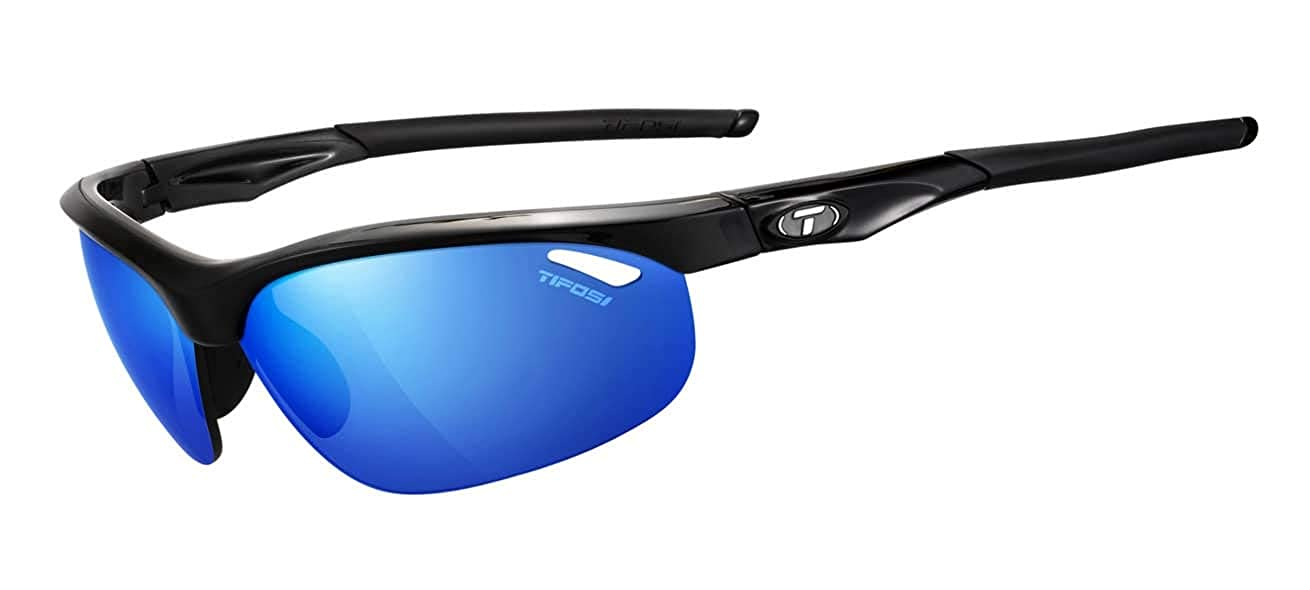 769a10e182 Amazon.com  Tifosi Optics Veloce Gloss Black Interchangeable Sunglasses  Wrap