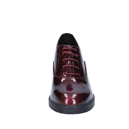 pour Chaussures Femme de Violet Lacets Francesco à Ville Milano Rouge WYpwcOFq