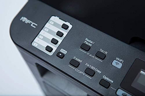 Brother MFCL2710DW - Impresora multifunción láser monocromo con fax e impresión dúplex (30 ppm, USB 2.0, Wifi, Ethernet… 4