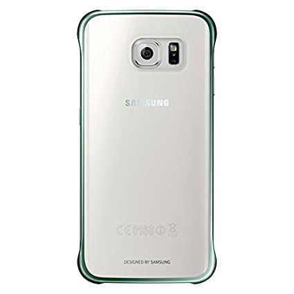 newest 7ce8d cd197 Samsung Clear Back Cover for Galaxy S6 Edge (Green)