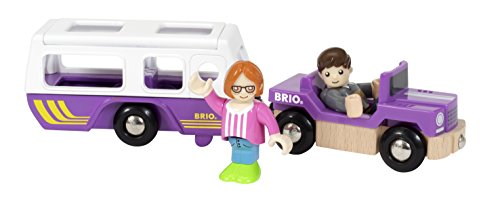 (BRIO Camper Trailer & Car)