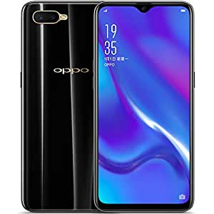 Original OPPO K1 6G+64G Mobile Phone 4G LTE Android 8.1 Snapdragon 660 Octa Core 25MP AI Selfie Screen Fingerprint ID Cellphone Support Google-by (CTM Global Store) (6G+64G Black)