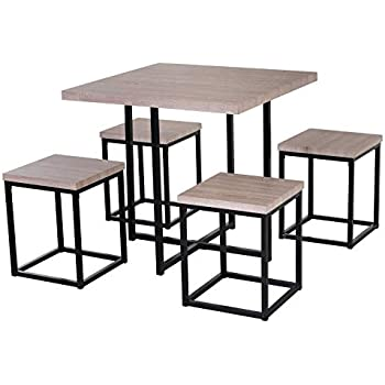 Amazon Com Simple Living 5 Piece Baxter Dining Set With