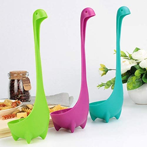 Kitchen Tools 3pcs//lot Creative Soup Spoon Cute Dinosaur Stand Vertical Oat Spoon Kitchen Tableware Spoon