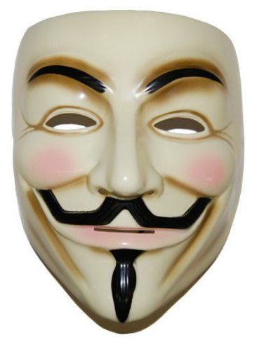 Guy Fawkes V For Vendetta Mask -