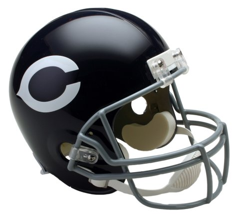 Riddell Chicago Bears Mini Replica Throwback Helmet - Chicago Bears Black One Size ()