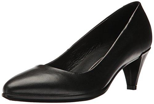 Noir Pointy Femme Ecco Shape 45 Escarpins Black Sleek qSU1nC