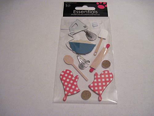 - Sticker Scrapbooking Crafts Sandylion Kitchen Utensils Mixer Cooking Baking