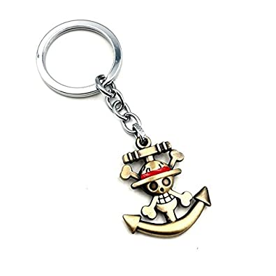 Gemelolandia Llavero One Piece Ancla Luffy 4 cm: Amazon.es ...
