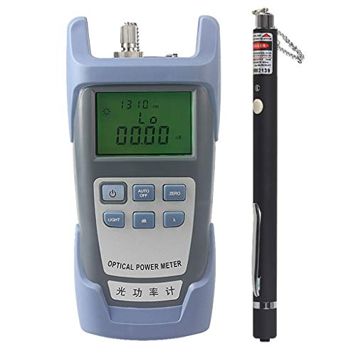 Baosity AUA-9 Fiber Optic Cable Tester Optical Power Meter with Sc & Fc Connector Tester + 10mW Visual Fault Locator Equipment for CATV Test,CCTV Test Black by Baosity (Image #3)