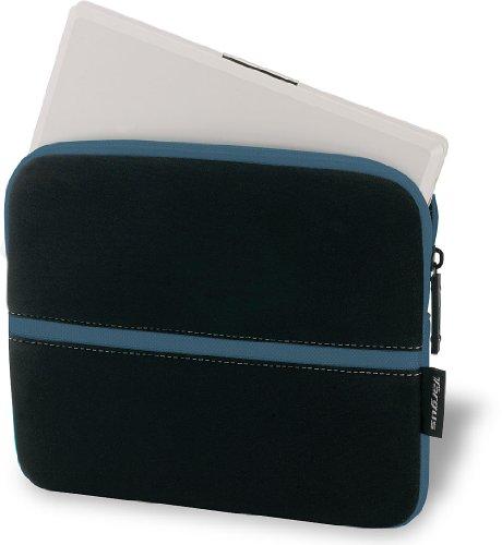 10.2 Inch Netbook Case - Targus Neoprene Slipskin Peel Netbook Slip Case Designed to Protect up to 10.2-Inch Netbooks TSS11101US-Black with Blue