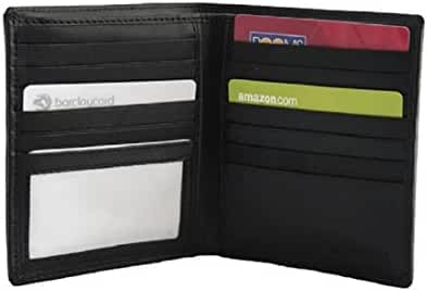 Men's Dalton Large Executive Leather Hipster Bifold Wallet